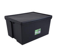 Wham Storage Container Heavy Duty 150l Black 1 Each Z445220: $149.57