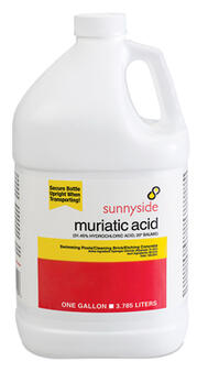 Muriatic Acid 1 Gallon 710G1: $42.30