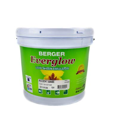 Berger Everglow Emulsion Accent Base 1 Gallon P113439: $106.03