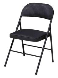 Folding Chair Black 1 Each 14-995-TMS4: $170.01