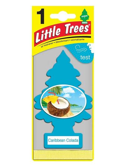 Little Trees Air Freshener Caribbean Colada 1 Each U1P-10324: $5.20
