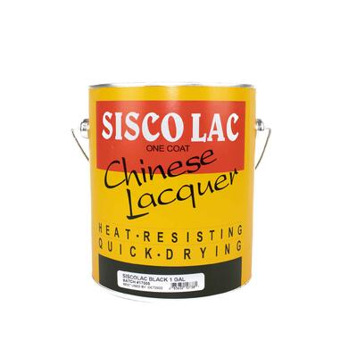 Siscolac Lacquer Black 1 Gallon SCL55-1000: $121.02