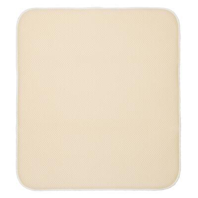 iDesign IDry Solid Kitchen Drying Mat 18x9 Inch Ivory Wheat 1 Each 41240: $16.21