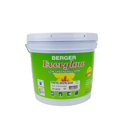 Berger Everglow Emulsion White Base 1 Gallon P113449: $106.03