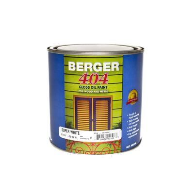 Berger 404 Gloss White 1 Quart P113330: $49.55