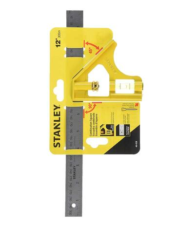 Stanley Combination Square 12 Inch 1 Each 0446028: $80.71