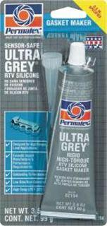 Permatex Silicone Gasket Maker  3.35 Ounce  Ultra Grey 1 Each 82194: $32.83
