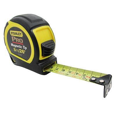 Stanley Measuring Tape Pro 8 Inch 1 Each 95IB30088: $46.37