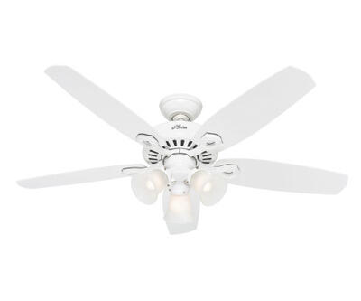 Hunter Fan Ceiling Builders Plus 52 Inch White 1 Each HU-50560: $483.00