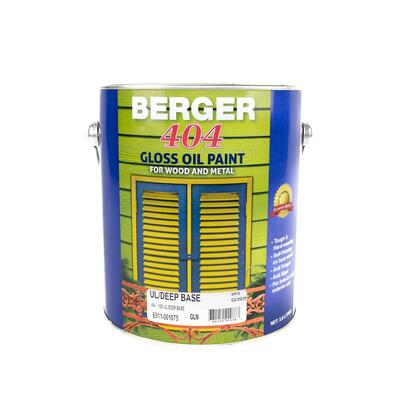Berger 404 Gloss Ultra Deep Base 1 Gallon P113306: $124.03