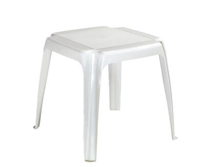 Side Table Square Resin White 1 Each 8115-48-3700: $48.96