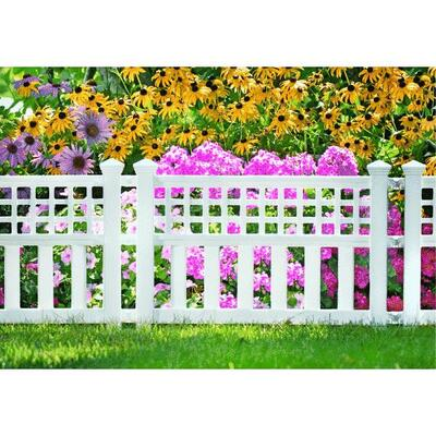 Sun Cast Decorative Border Fence 20-1/2x24 Inch  1 Each GVF24: $48.69