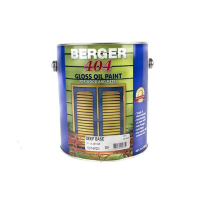 Berger 404 Gloss Deep Base 1 Gallon P113304 F5089W02600F: $124.03