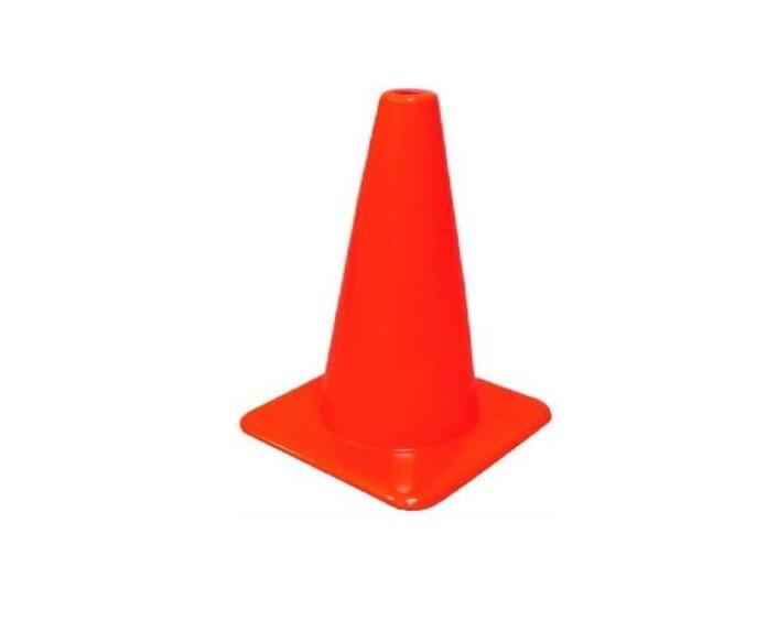 Hy-Ko Vinyl Safety Cone 18 Inch  Orange  1 Each SC-18 POS-42SC: $78.69