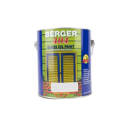 Berger 404 Gloss Brite Base 1 Gallon P113303: $124.03