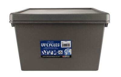 Wham Storage Container Heavy Duty 45l Grey 1 Each 445640: $66.40