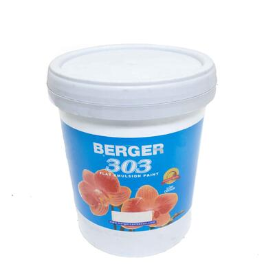 Berger 303 Emulsion White Base 5 Gallon P113289: $451.18