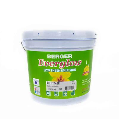 Berger Everglow Emulsion Brite Base 1 Gallon P113441 F1023W02900F: $106.03